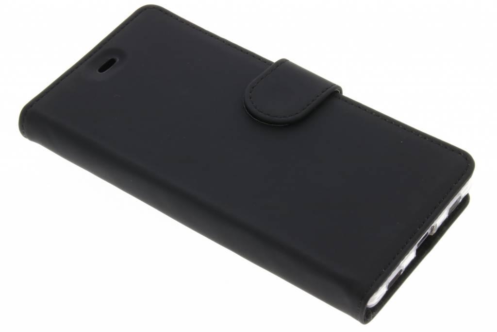 Accezz Zwarte Wallet TPU booklet voor de Huawei P8