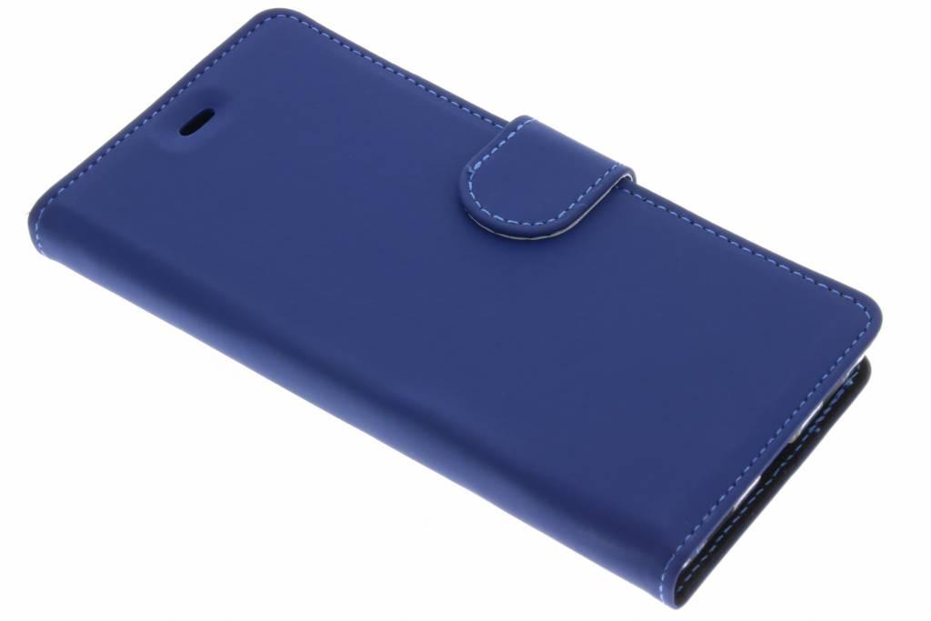 Accezz Blauwe Wallet TPU booklet voor de Huawei P8