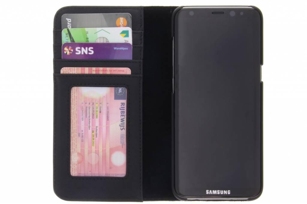 tui Portefeuille Noir Pour Samsung Galaxy S8 fTuEUXLo
