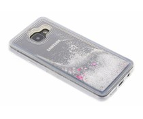 Zilver Liquid Glitter Case Samsung Galaxy A3 (2016)