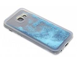 Blauw Liquid Glitter Case Samsung Galaxy A3 (2017)