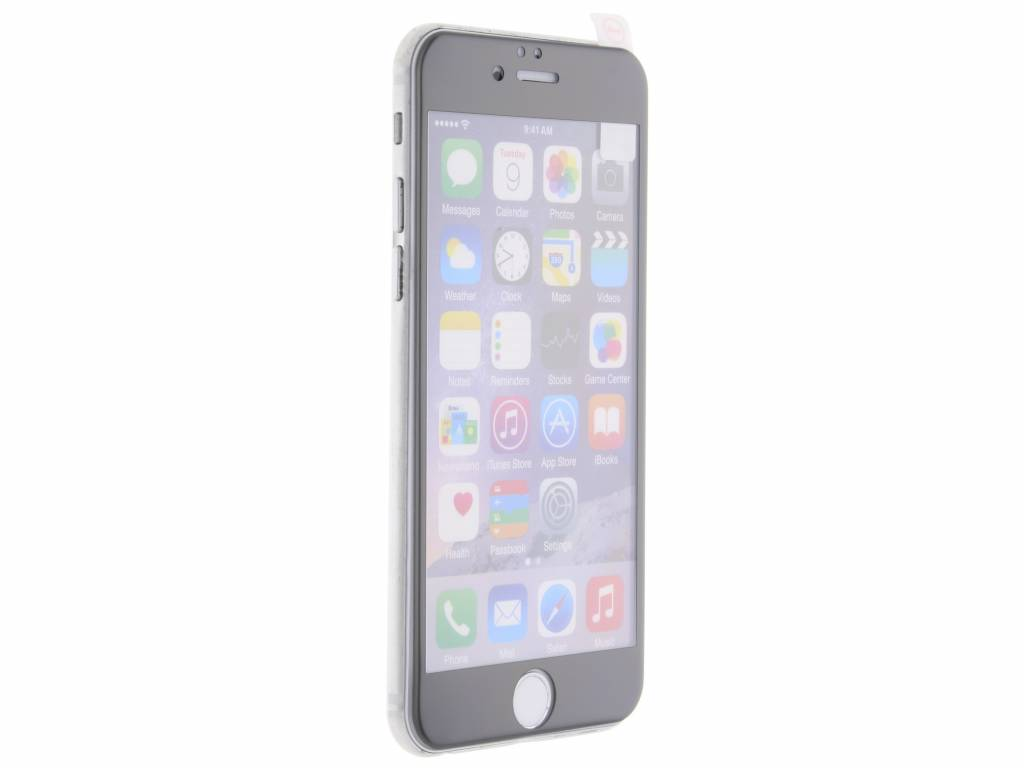 Gehard glas screenprotector voor de iPhone 6 / 6s - Grijs