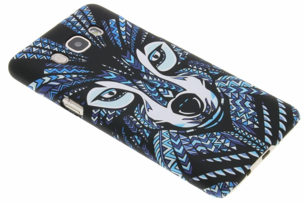 Wolf aztec animal design hardcase hoesje voor de Samsung Galaxy J5 (2016)