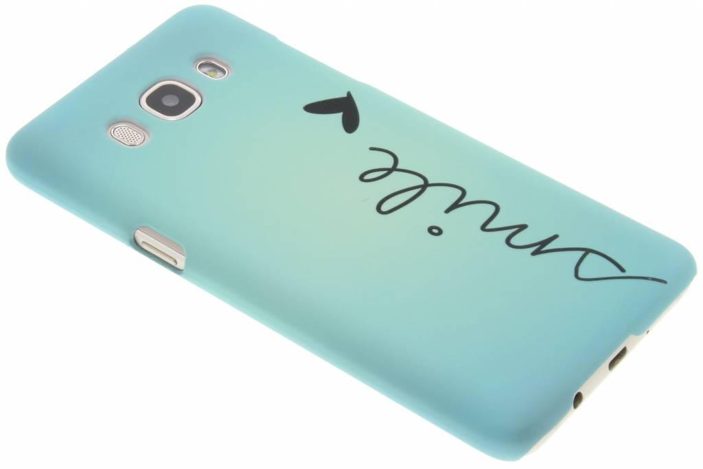 Smile design hardcase hoesje voor de Samsung Galaxy J5 (2016)