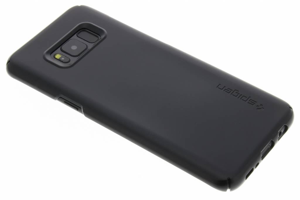 Noir Ajustement Mince Étui Rigide Pour Samsung Galaxy S8 XoGgRZK7Kv