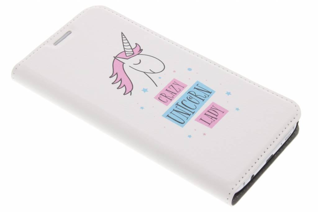 Unicorn Design Booklet voor de Samsung Galaxy S7 Edge