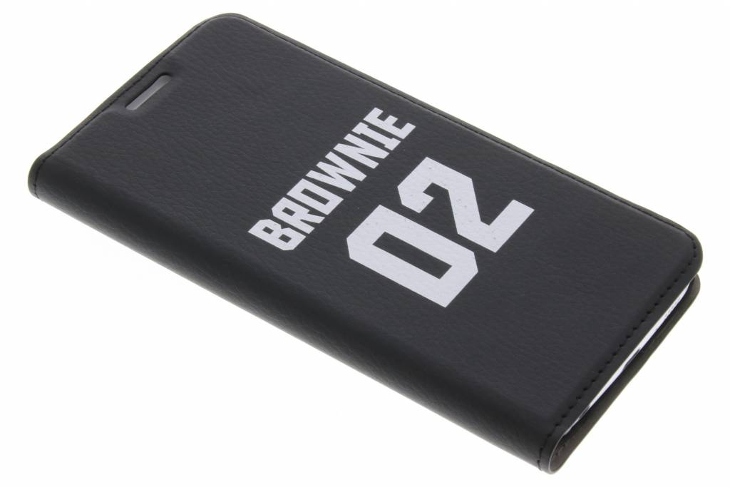 BFF Brownie Design Booklet voor de Samsung Galaxy S6 Edge
