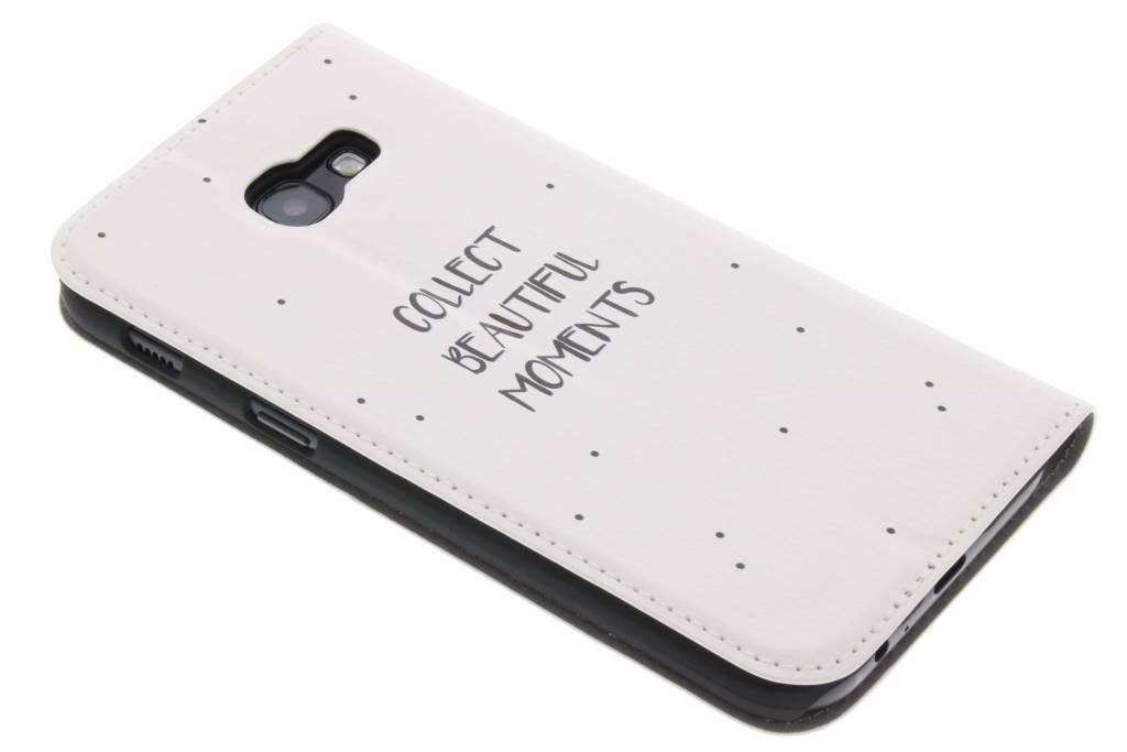 Design Blanc Livret De Devis Pour Le Samsung Galaxy A5 (2017) Kkchj