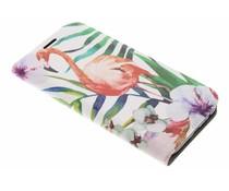 Flamingo Design Booklet Samsung Galaxy A5 (2017)