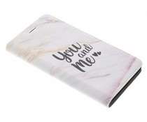 Quote Design Booklet Samsung Galaxy J3 (2017)