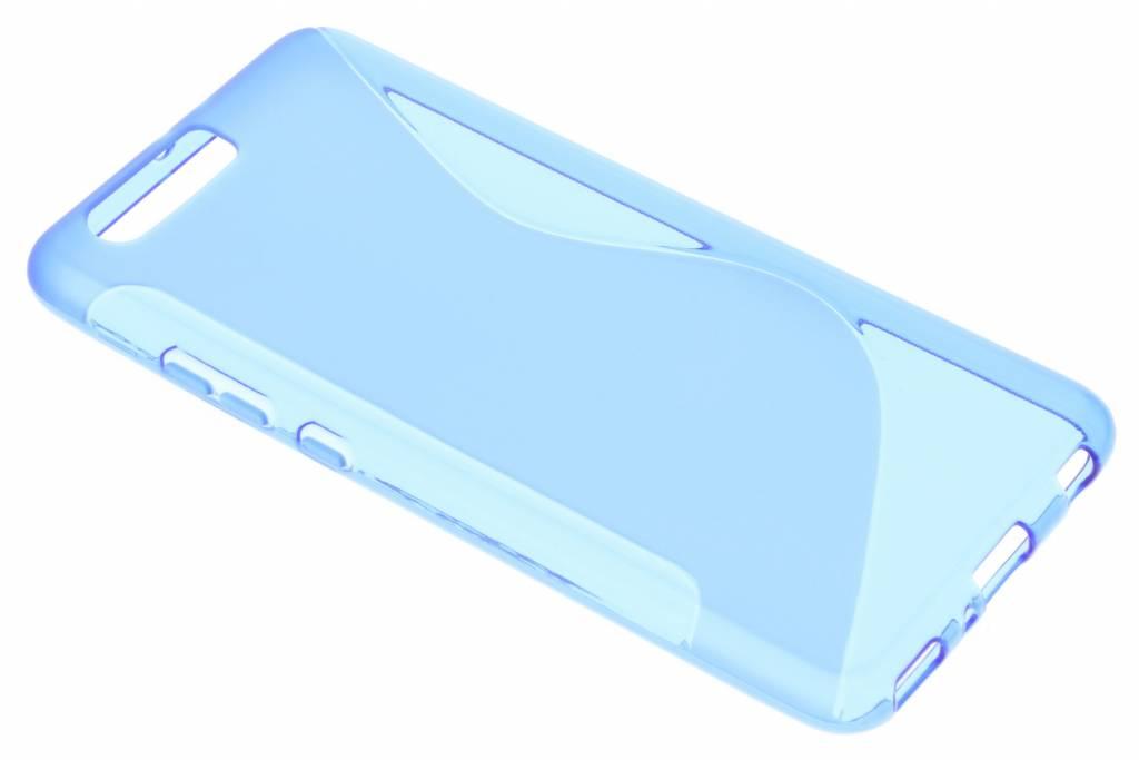 Blauw S-line TPU hoesje voor de Huawei P10 Plus