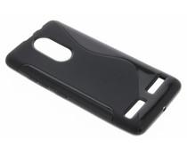 Zwart S-line TPU hoesje Lenovo K6