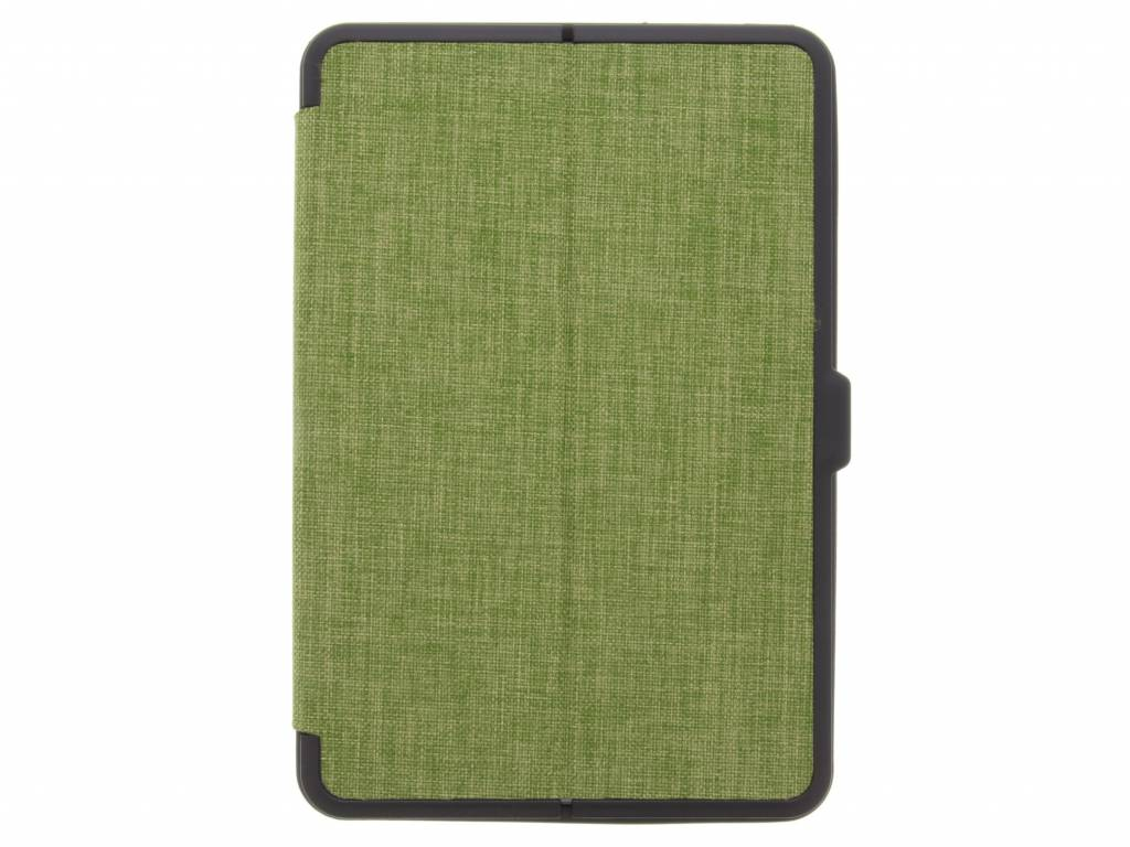 Groene Canvas tablethoes voor de iPad Mini 4