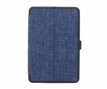 Blauw Canvas Bookcase iPad Mini 4