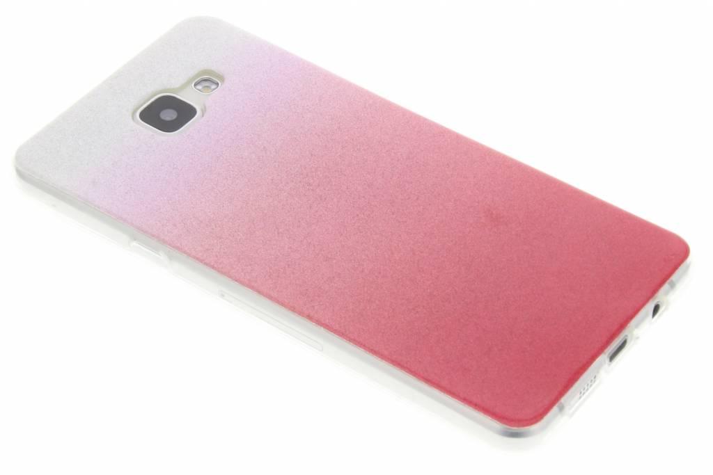 Roze glitter TPU softcase voor de Samsung Galaxy A5 (2016)