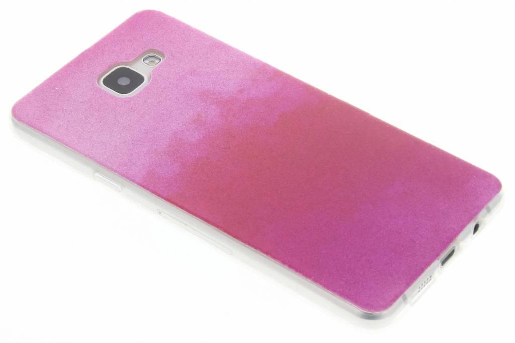 Fuchsia glitter TPU softcase voor de Samsung Galaxy A5 (2016)