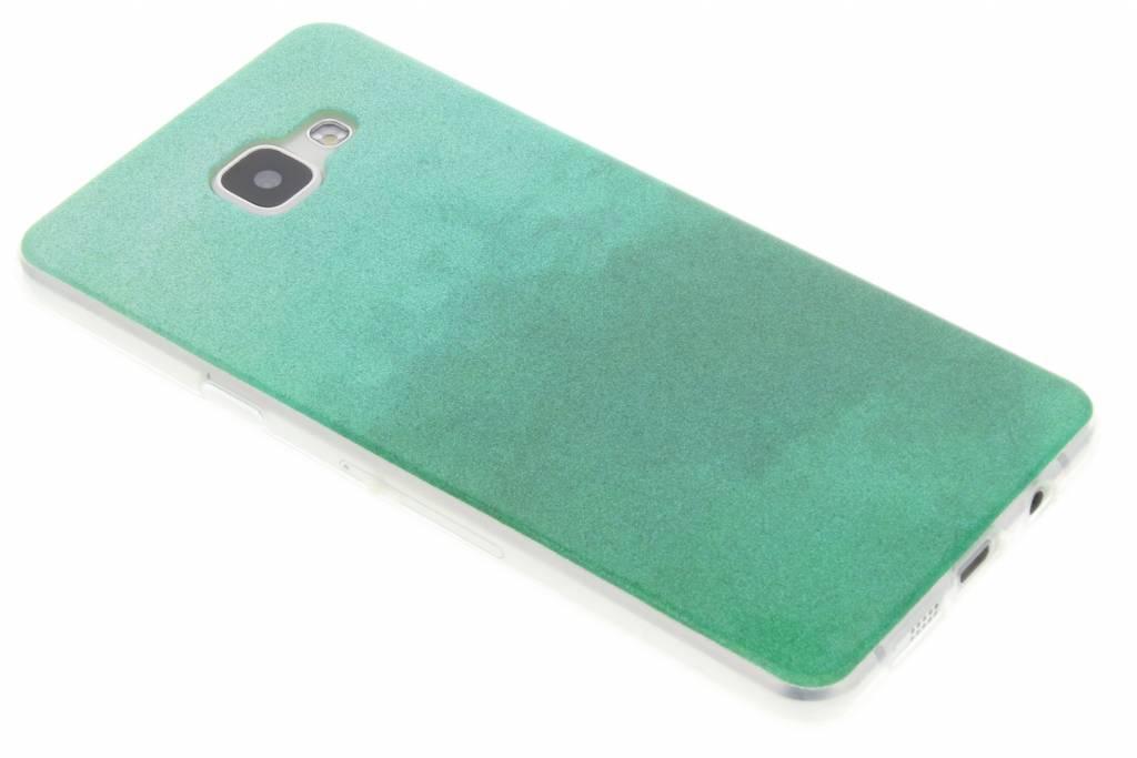 Groene glitter TPU softcase voor de Samsung Galaxy A5 (2016)