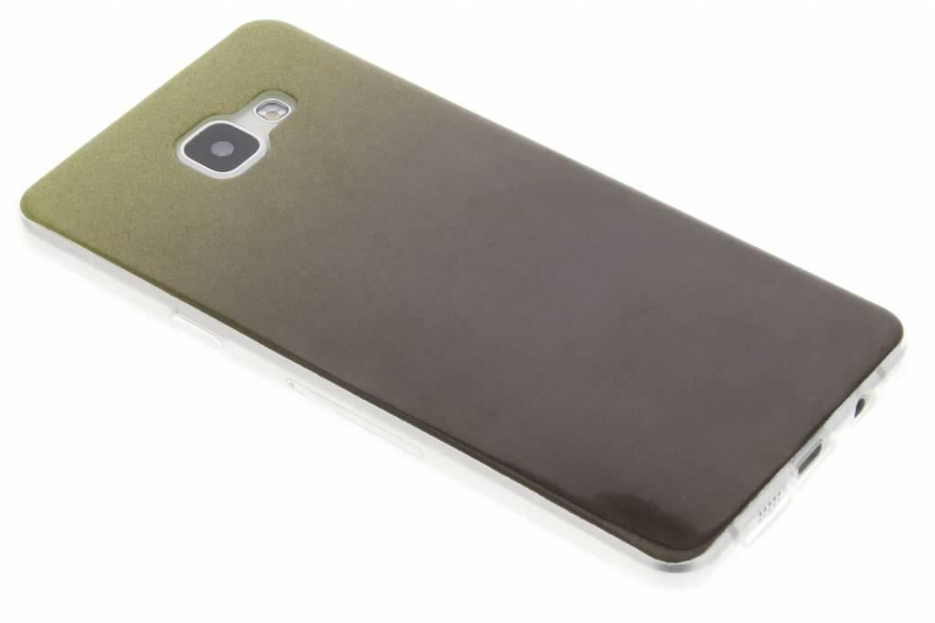 Zwarte glitter TPU softcase voor de Samsung Galaxy A5 (2016)
