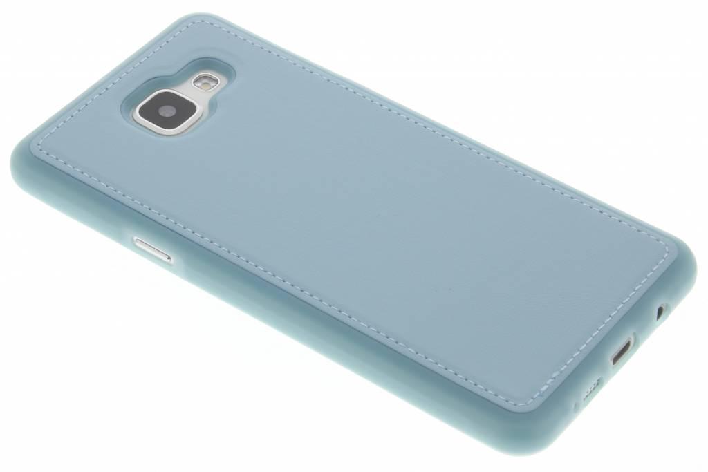 Blauwe lederen TPU case voor de Samsung Galaxy A5 (2016)