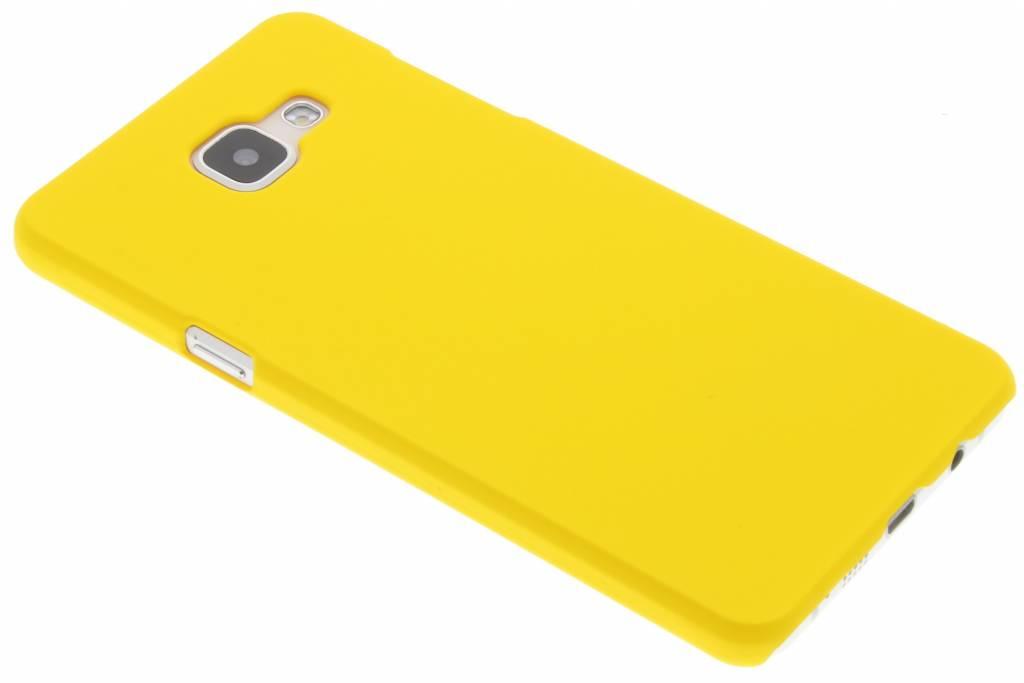 Geel effen hardcase hoesje voor de Samsung Galaxy A5 (2016)