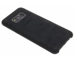 Samsung Donkergrijs originele Alcantara Cover Galaxy S8 Plus