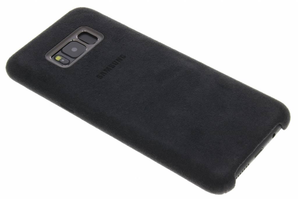 Samsung Galaxy S8 Plus Alcantara Cover EF-XG955AS Zilver