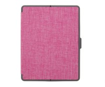 Roze Canvas Bookcase iPad 2 / 3 / 4