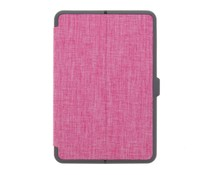 Roze Canvas Bookcase iPad Mini 4