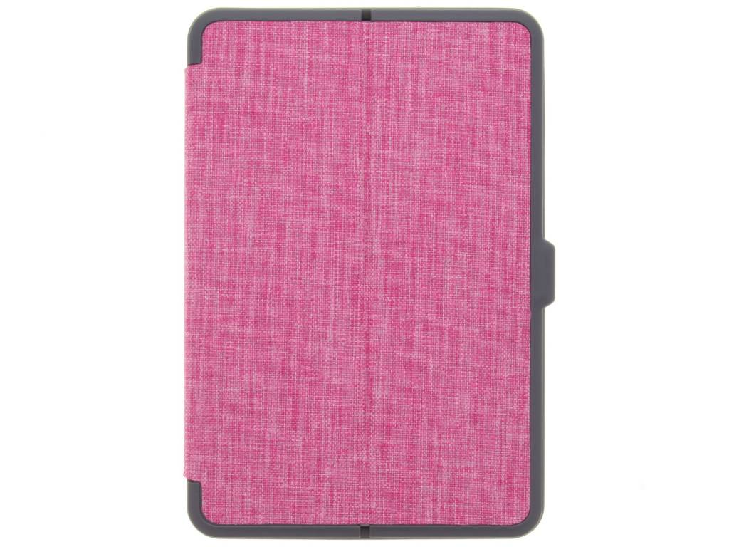 Roze Canvas tablethoes voor de iPad Mini 4