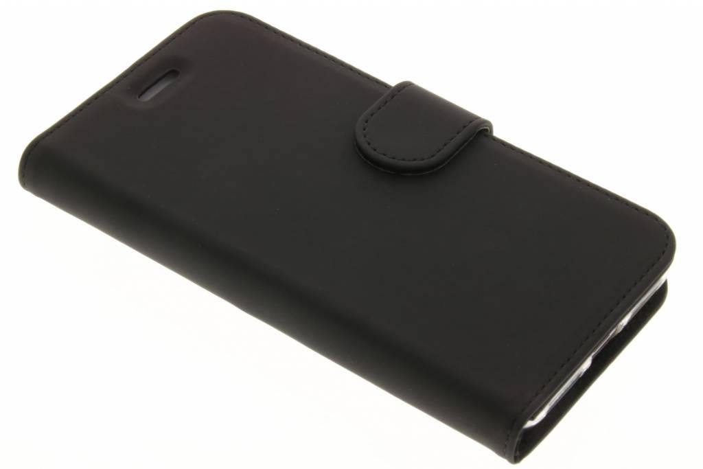Accezz Wallet TPU Booklet voor de Huawei Y5 2 / Y6 2 Compact - Zwart