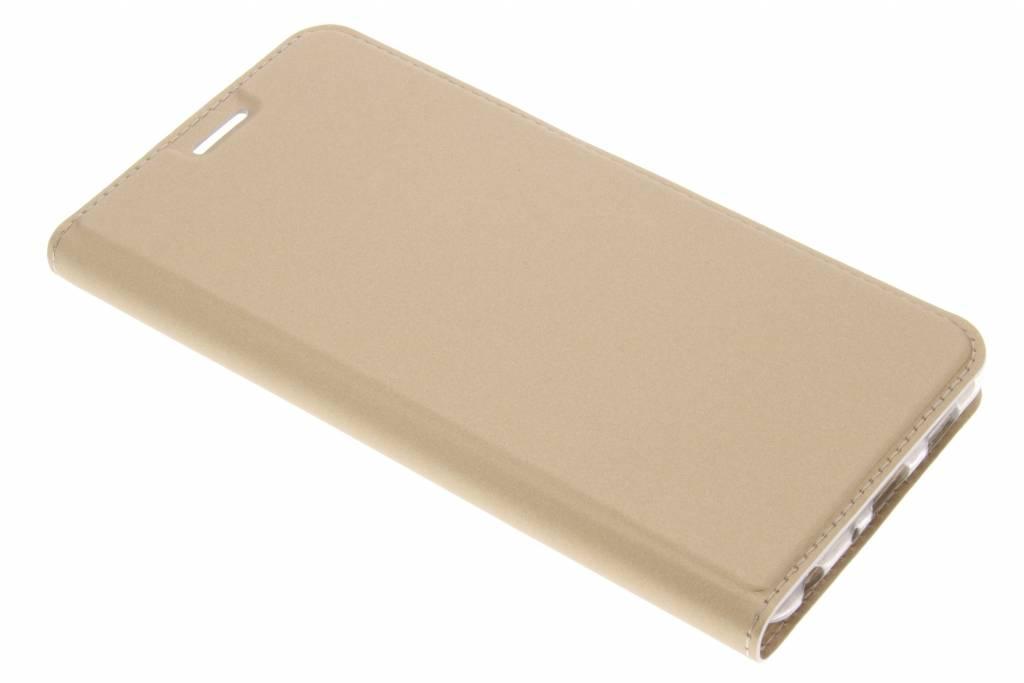 Gouden Slim TPU Booklet voor de Asus Zenfone 3 Zoom / Zoom S