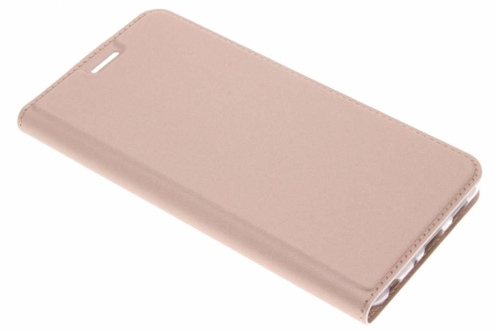 Rosé Gouden Slim TPU Booklet voor de Asus Zenfone 3 Zoom / Zoom S