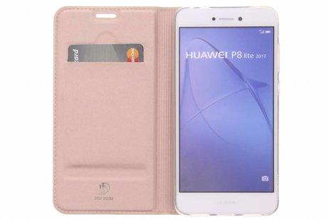 Or Rosé Livret Tpu Mince Pour Huawei Lite P9 Ylfx6