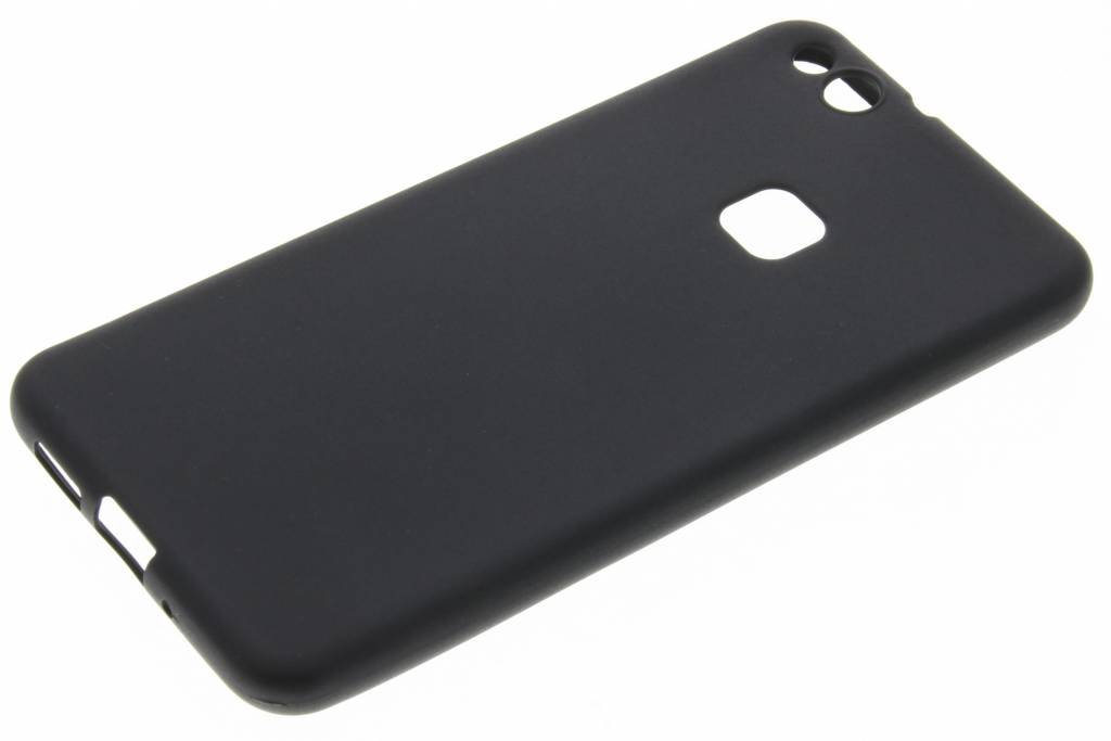 Cas De Tpu De Couleur Noire Pour Huawei Lite P20 UYs8O