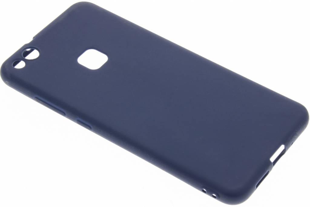 Blauw Color TPU hoesje voor de Huawei P10 Lite
