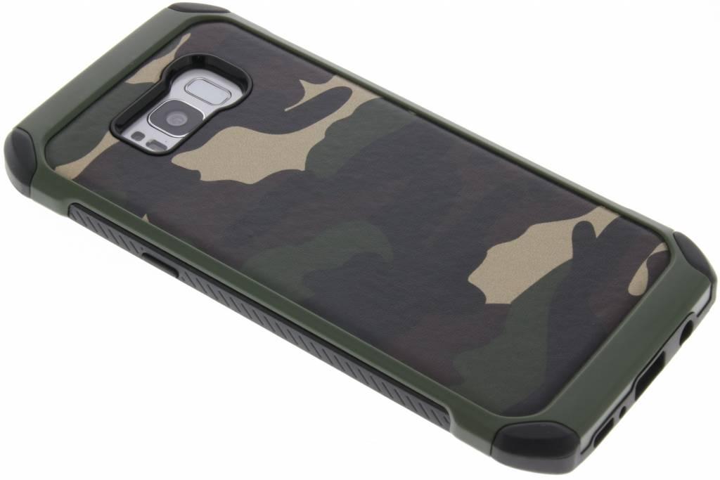 Groene Army defender hardcase voor de Samsung Galaxy S8 Plus