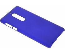 Donkerblauw effen hardcase hoesje Nokia 5