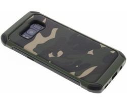 Groen army defender hardcase hoesje Samsung Galaxy S8