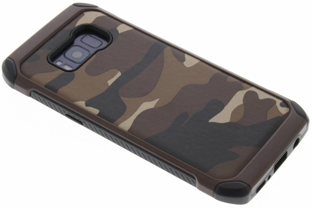 Bruin army defender hardcase hoesje voor de Samsung Galaxy S8