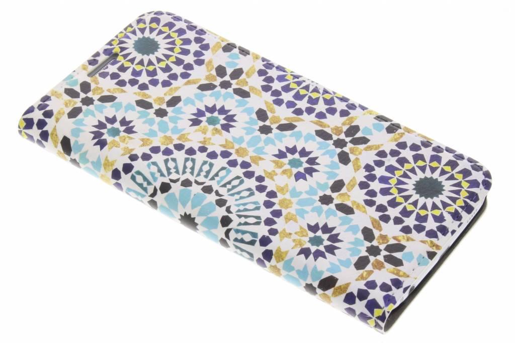 Marrakech Print Design Booklet voor de Samsung Galaxy S6
