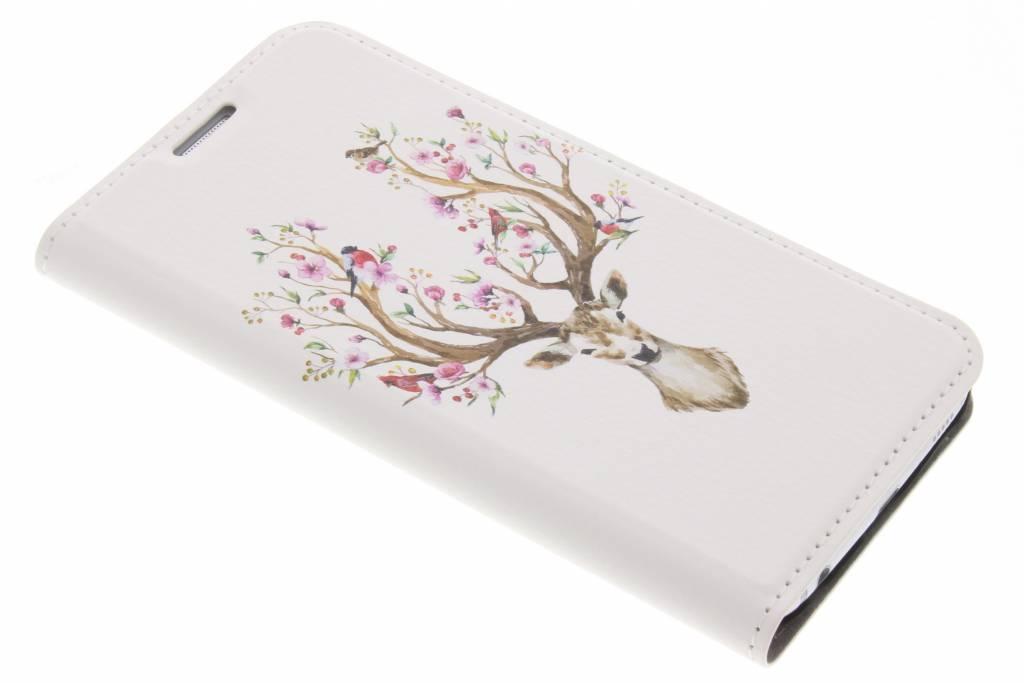 Hert Watercolor Design Booklet voor de Samsung Galaxy S6