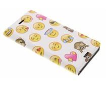 Emoji Design Booklet Sony Xperia X