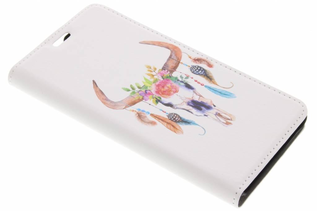 Bull Skull Design Booklet voor de Lenovo K6