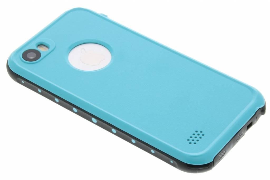 Redpepper Dot Waterproof Case voor de iPhone 5 / 5s / SE - Turquoise