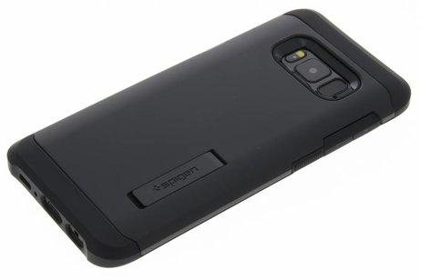 Cas D'armure Robuste Noir Pour Samsung Galaxy S8 ZJ43h