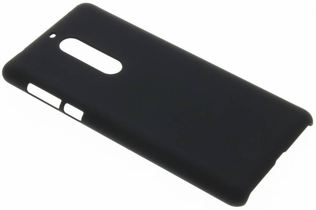 Zwart effen hardcase hoesje voor de Nokia 5