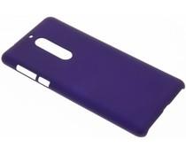 Paars effen hardcase hoesje Nokia 5