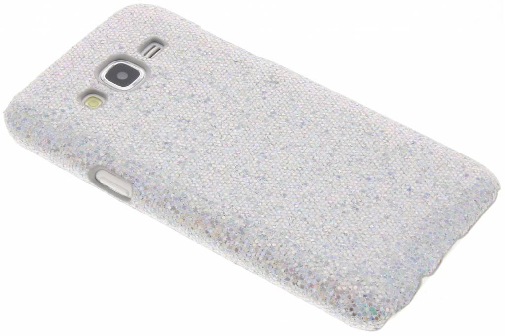 Glamour design hardcase hoesje Samsung Galaxy J5 - Zilver