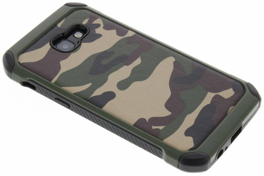 Groen Army defender hardcase hoesje voor de Samsung Galaxy A5 (2017)