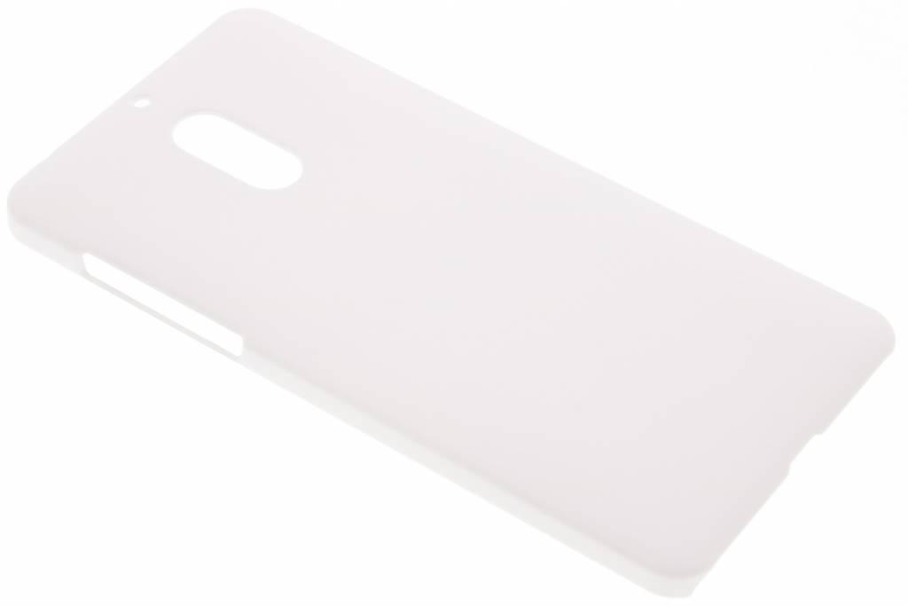 Wit effen hardcase hoesje voor de Nokia 6